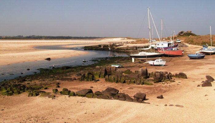 Balade littorale Plouescat L'allée couverte du Guirnivit